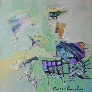 Kaiser Kamal; Spring2, 2012, Original Mixed Media, 12 x 12 inches. Artwork description: 241               mixed media , contemporary, experimental on display @ think Coffee Gallary248 Marcer st . Ny               ...