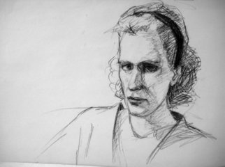 Michelle Mendez; Jan, 2011, Original Drawing Charcoal, 24 x 18 inches.