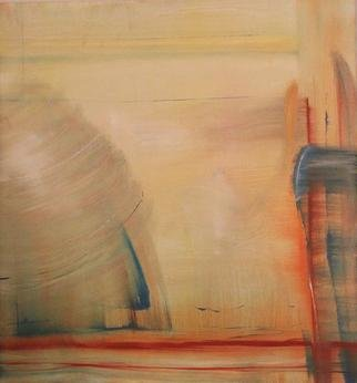 Moly Levine; Untitled 13, 2013, Original Painting Oil, 22 x 23 inches. Artwork description: 241  space, paint and color ...