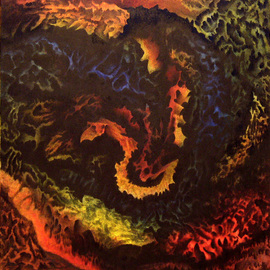 Noel Stavropoulos, Depth of Soul, 2006, Original Painting Oil, size_width{Depth_of_Soul-1191508799.jpg} X 28 x  inches