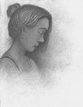Artist: Noel Stavropoulos', title: Portrait, 2003, Drawing Pencil