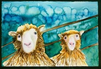 Sherry Harradence; CLONING AROUND, 2012, Original Watercolor, 16 x 20 inches. Artwork description: 241                                                                             THIS CAN BE PURCHASED ON MY OTHER WEBSITE, IN PRINTS, CANVAS, ACRYLIC AND CARDS.  Go to: