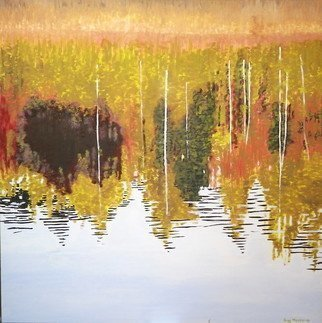 Guy Octaaf Moreaux; Lake In Limburg, 2011, Original Painting Oil, 100 x 100 cm. Artwork description: 241 The explosion of colors in Limburg, eastern province of Belgium, where a sometimes sandy soil allows a wide variety of trees to grow. This province has many forests. ...