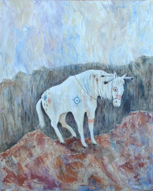 Mr. Dill; Painted Pony, 2013, Original Painting Acrylic, 24 x 30 inches. Artwork description: 241  pony, horse, native american, western, wild west      ...