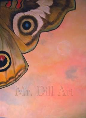 Mr. Dill; Pink Delight, 2011, Original Painting Acrylic, 24 x 30 inches. Artwork description: 241  Nature up close. Her beauty surreal ...