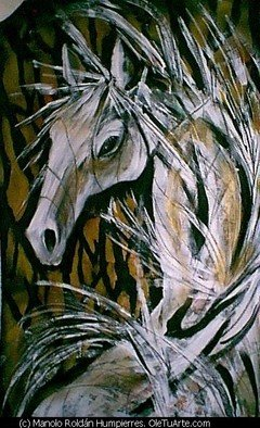 Manolo Roldan Humpierres; CABALLO5, 2008, Original Other, 1 x 1 m. Artwork description: 241  SERIE CABALLOS ...