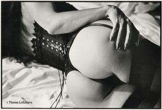 Theresa Loschiavo; Her Hand, 2003, Original Photography Black and White, 14 x 11 inches.