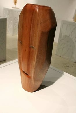 Nadine Amireh; Geometry, 2016, Original Sculpture Wood, 16 x 41 cm. Artwork description: 241 Eucalyptus Wood...