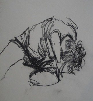 Najmeh Mottaghi; 1, 2008, Original Drawing Other, 25.1 x 25 cm.