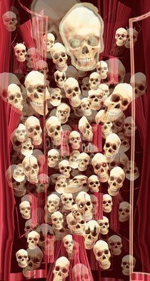 Nancy Bechtol, 'Ancestors Skulls', 2011, original Photography Other, 34 x 62  x 6 inches. Artwork description: 3495 Collector Item. inquire Photo RHO BOARD, Matte finish, ready to hang. available in various sizes/ price dependent on size- materials. from smaller to very large wall scale etc, inquireprint on metal, photo paper, canvas, etc....