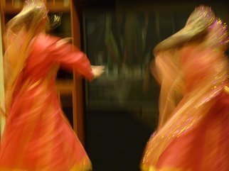 Nancy Bechtol, 'LIGHT HINDI DANCE', 2009, original Photography Other, 9 x 12  x 1 inches. Artwork description: 5475  a work from the series,