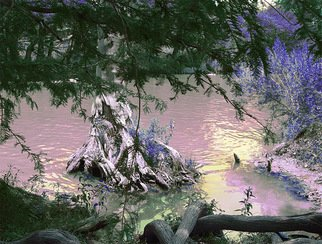 Nancy Wood; River 2, 2013, Original Photography Other, 20 x 16 inches. Artwork description: 241      Digital Photo on Canvas     ...