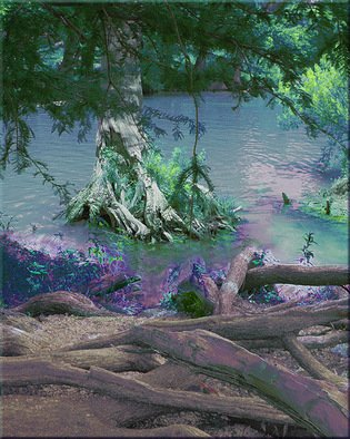 Nancy Wood; River 2 Vertical, 2013, Original Photography Other, 20 x 16 inches. Artwork description: 241       Digital Photo on Canvas      ...
