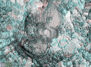 Cris Orfescu; NanoColibri 2, 2012, Original Sculpture Other, 48 x 33 cm. Artwork description: 241  Nanosculpture: mixture of graphite nano and microparticles visualized with a scanning electron microscope ( courtesy of Applied Analytical Sciences in Costa Mesa, California) . The image was captured in a computer and printed on canvas with archival inks specially formulated to last for a long time. This way, the ...