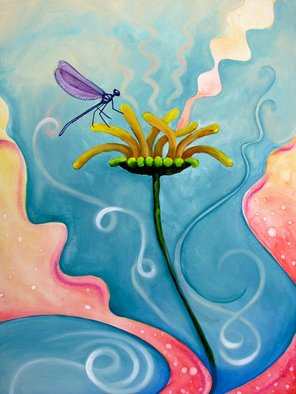 Nicole Collie; Life As A Dragonfly, 2012, Original Printmaking Giclee, 18 x 24 inches. Artwork description: 241  The symbol of a DragonFly is Enjoy your Life because Life is SHORT!I couldn' t say it better myself. . . be happy and enjoy life! ...