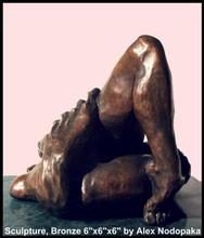 Artist: Alexandre Nodopaka's, title: Caress 40, 2000, Sculpture Bronze