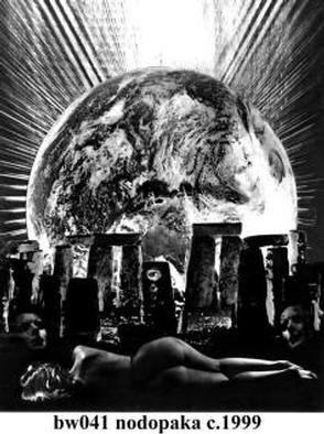 Alexandre Nodopaka; Manipulated photography, 2000, Original Photography Black and White, 14 x 11 inches. Artwork description: 241 Manipulated photography...