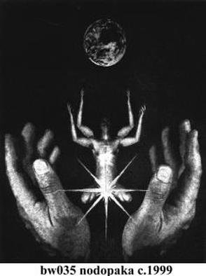 Alexandre Nodopaka; Manipulated photography, 2000, Original Photography Black and White,   inches. Artwork description: 241 Manipulated photography...