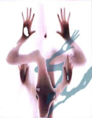 Alexandre Nodopaka; Nude 2002-03, 2002, Original Computer Art,   inches. Artwork description: 241 Adulterated Pixels...