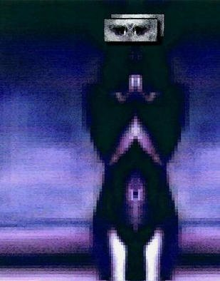 Alexandre Nodopaka; Nude 2002-05, 2002, Original Computer Art,   inches. Artwork description: 241 Adulterated Pixels...