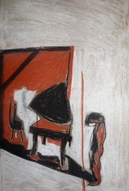 H Schlagen; After The Show, 2012, Original Drawing Other, 38 x 54 cm. Artwork description: 241  After the show       ...