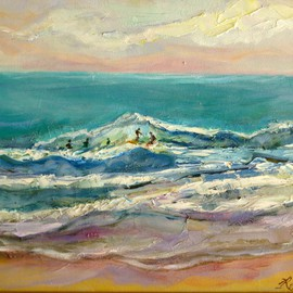 Renuka Pillai, , , Original Painting Oil, size_width{Surf-1420426277.jpg} X 9 inches