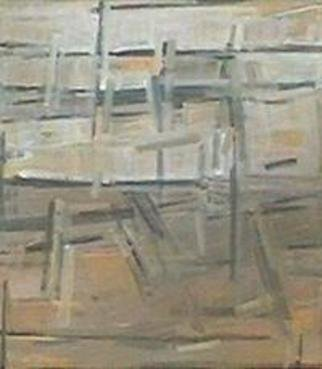 Nutan Shukla; Abstract, 2002, Original Painting Oil, 52 x 59 inches. Artwork description: 241 Oil on canvas...