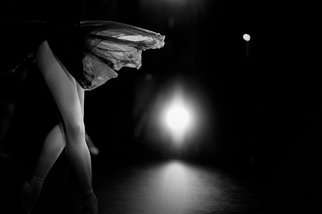 Yulia Nak; Butterfly  Russian Ballet , 2017, Original Photography Black and White, 17 x 12 inches. Artwork description: 241 ballet, dance, night, black white, theater ...