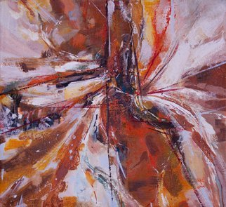 Olga Beblova; Highway, 2014, Original Painting Acrylic, 67 x 61 cm. Artwork description: 241 Motion, energy, dynamic...