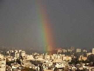 Orly Droval; After Rain , 2010, Original Photography Color, 40 x 30 cm. Artwork description: 241  the view from my window  ...