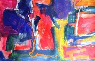 Oscar Gagliano; EMOCIONES, 2014, Original Painting Acrylic, 70 x 100 cm. Artwork description: 241         COLOR, EXPRESION, ABSTRACTO        ...