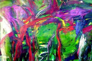 Oscar Gagliano; ENSALADA, 2014, Original Painting Acrylic, 70 x 100 cm. Artwork description: 241          COLOR, EXPRESION, ABSTRACTO         ...