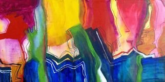 Oscar Gagliano; GUARDAS, 2014, Original Painting Acrylic, 35 x 50 cm. Artwork description: 241       COLOR, EXPRESION, ABSTRACTO      ...