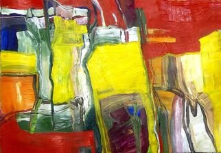 Oscar Gagliano; INTERVALOS, 2014, Original Painting Acrylic, 50 x 65 cm. Artwork description: 241   COLOR, EXPRESION, ABSTRACTO  ...
