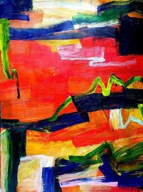 Oscar Gagliano; VARIANTS, 2008, Original Painting Acrylic, 65 x 90 cm. Artwork description: 241  ABSTRAC ...