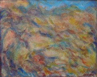 Ron Ogle, WOMAN IN BLACK, 1997, Original Painting Oil, size_width{Abstract_Renoir_Landscape-1141948463.jpg} X 8 inches