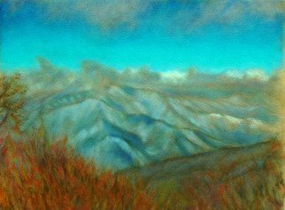 Ron Ogle, 30 Square Inch Landscape, 2007, Original Painting Oil, size_width{COLD_MOUNTAIN_SERIES__number_1-1174065203.jpg} X 12 inches