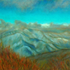 Ron Ogle, , , Original Painting Oil, size_width{COLD_MOUNTAIN_SERIES__number_1-1174065203.jpg} X 12 inches