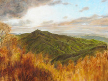 Ron Ogle COLD MOUNTAIN SERIES number 4, 2007