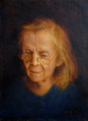 Ron Ogle, Detail of Alex painting, 2011, Original Painting Oil, size_width{My_Mother_at_89-1310067668.jpg} X 12 inches