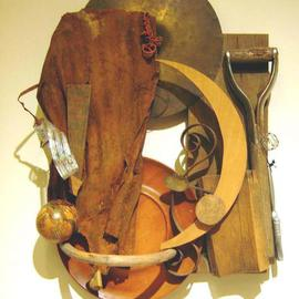 Ron Ogle, Shield, 1999, Original Assemblage, size_width{Shield-1450844874.jpg} X 34 x  inches