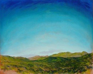 Ron Ogle, 30 Square Inch Landscape, 2004, Original Painting Oil, size_width{THE_VIEW_THAT_MADE_ASHEVILLE_FAMOUS__right_segment-1415644262.jpg} X 63 inches