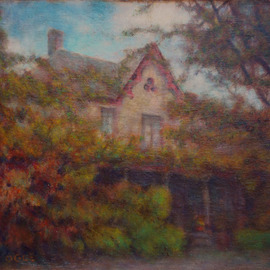 Ron Ogle, , , Original Painting Oil, size_width{The_Blake_House-1266362157.jpg} X 11 inches