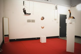 Oksana Steplyuk; in between spaces, 2008, Original Sculpture Other, 45 x 180 cm.
