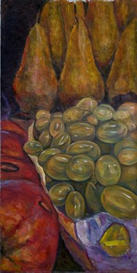 Olga Lebed; Still Life 1, 2007, Original Painting Oil, 60 x 90 cm.
