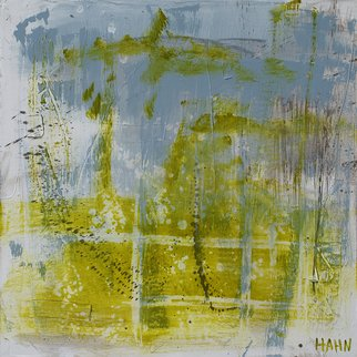 Andy Hahn; Abstract 129, 2014, Original Painting Acrylic, 30 x 30 inches. Artwork description: 241   Modern abstract painting, blue and green acrylic painiting, large wall art, contemporary painting, modern art, Andy Hahn  ...