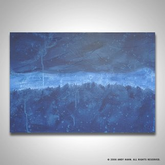 Andy Hahn; Dusk Before The Storm, 2006, Original Painting Acrylic, 36 x 24 inches. Artwork description: 241  Modern abstract painting from my landscape series. ...