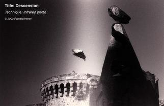 Pamela Henry; Descension, 2000, Original Photography Black and White, 20 x 13 inches. Artwork description: 241 Infrared black and white art photograph. Signed, archival photo lustre giclee print....