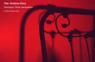 Pamela Henry; Redtime Story, 2004, Original Photography Other, 20 x 13 inches. Artwork description: 241 Photo manipulation. Signed, archival photo lustre giclee print....