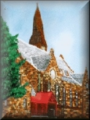 Patricia Boes; Inner Peace, 2006, Original Pastel, 18 x 24 inches. Artwork description: 241  This is a painting of a Church in Massachusetts. ...
